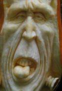 Carved Frankie Pumpkin