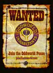 OddWorld Help Wanted Poster